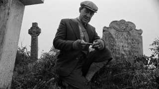 Michael Horden as The Professor in Jonathan Miller's version of Whistle and Ill Come to You, the classic ghost story by M. R. James, shown on BBC1 on Tuesday 7 May, 1968.