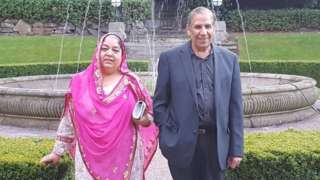 Nargis Begum and her husband