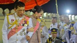 King Maha Vajiralongkorn greets well-wishers in Bangkok