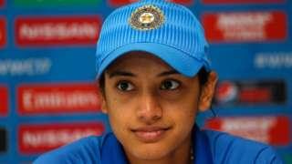 स्मृती मन्धाना, भारतीय महिला क्रिकेट संघ