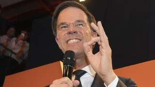 Mark Rutte, 15 Mar 17