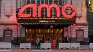 An AMC cinema in New York City.