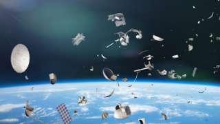 Artwork: Space junk