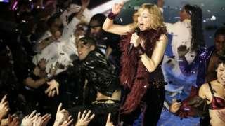 Madonna performs at Koko