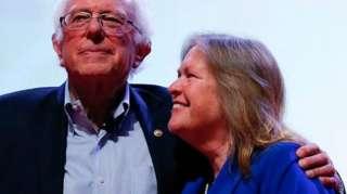 Jane and Bernie Sanders