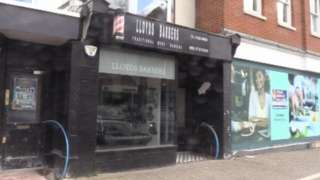 Lloyds Barbers in Crawley high street