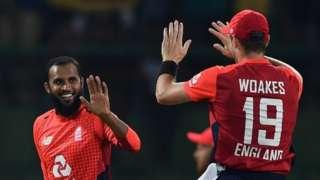Adil Rashid and Chris Woakes