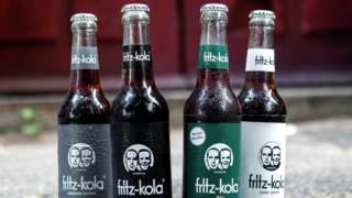 The different versions of Fritz-Kola