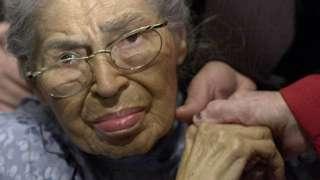 US activist Rosa Parks
