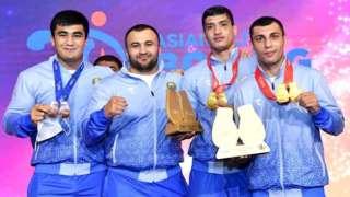 Ўзбекистонлик боксчилар