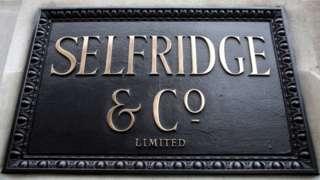 Selfridges sign