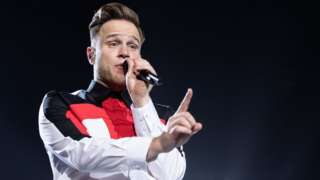 Olly Murs performing in Hull in 2019