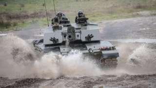 Challenger II Main Battle Tank