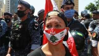 مظاهرات ضد الحكومة في لبنان