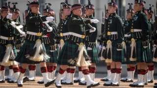 Scottish soldiers