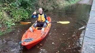 Alban Way flooding