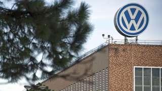 Volkswagen factory in Sao Paulo, Brazil