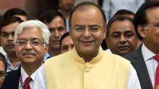 वित्त मंत्री अरुण जेटली, आम बजट