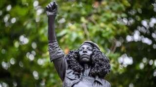 The statue of Jen Reid
