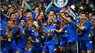 2020年,江苏苏宁夺得队史首个中超联赛冠军