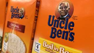 Uncle Ben's rice box