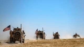 ABD ordusu Suriye'de