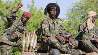 Chad soldiers for Joint Task Froce