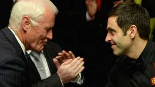 Barry Hearn Ronnie O'Sullivan
