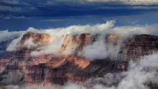 云雾缭绕的科罗拉多大峡谷(Credit: Getty Images)