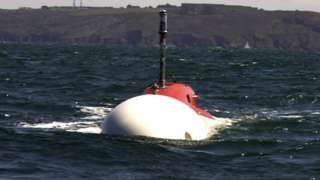 MSubs of Plymouth builit the Extra-Large Unmanned Underwater Vehicle (XLUUV)