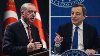 Erdoğan iyo Draghi