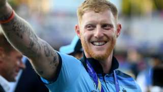 Ben Stokes was the player of the match in the World Cup final