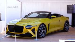 The Bentley Mulliner Bacalar