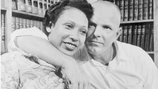 Richard and Mildred Loving were arrested in bed weeks after their marriage