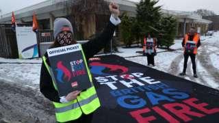 British Gas strikers