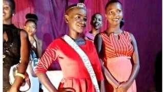 Umwigeme w'umutwakazi, Neilla Mutoniwimana, niwe yabaye Miss Kayanza