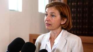 Florence Parly, la ministre française des Armées, en août 2017 à Bamako, la capitale malienne