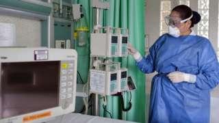 Enfermera en México