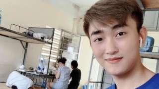 Trần Thống Nhất, trở về từ Thái Lan ngày 22/3 và đang cách ly tại ký túc xá Đại học Quốc gia TP HCM