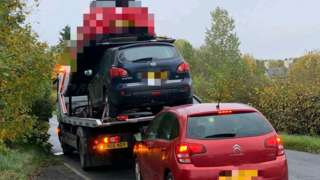 Cars being seized