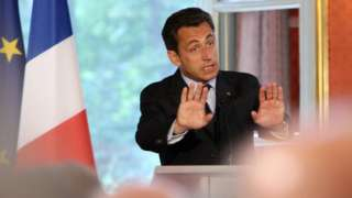 Саркози в первые дни перезидентства