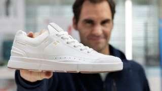 Roger Federer helped design the Roger Centre Court shoe