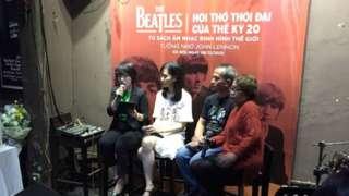 Đêm ra mắt sách Shout về nhóm The Beatles ở Hà Nội