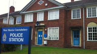 A West Mercia Police station