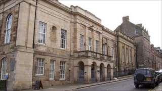 Jedburgh Sheriff Court - Crown copyright image