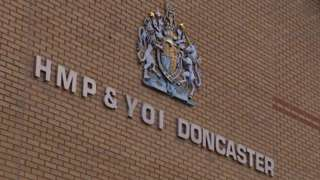 HMP Doncaster sign