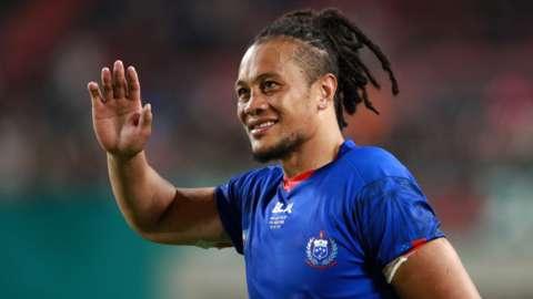 TJ Ioane has 31 caps for Samoa