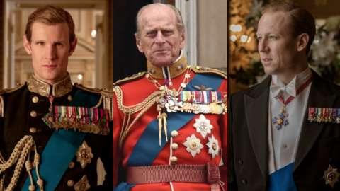 Matt Smith, Prince Philip, Tobias Menzies