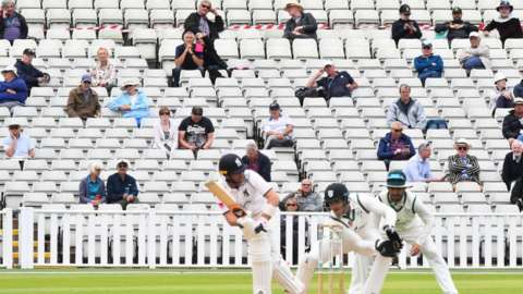 Warwickshire were limited to a pilot 1,000 crowd for a two-day pre-season friendly with Worcestershire last July - just prior to the start of the delayed County Championship campaign