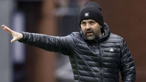 Cove Rangers manager Paul Hartley